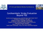 Cardioembolic Stroke Evaluation Beyond TEE by Karthikeyan Ananthasubramaniam
