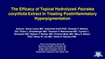 The Efficacy of Topical Hydrolyzed Psoralea corylifolia Extract in Treating Postinflammatory Hyperpigmentation