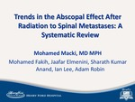 Trends in the Abscopal Effect After Radiation to Spinal Metastases: A Systematic Review by Adam Robin, Mohamed Macki, Mohamed Fakih, Jaafar Elmenini, Sharath Kumar Anand, and Ian Lee
