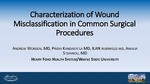 Characterization of Wound Misclassification in Common Surgical Procedures by Andrew Worden, Pridvi Kandagatla, Ilan Rubinfeld, and Amalia Stefanou